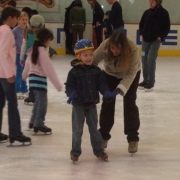 fun at the rink